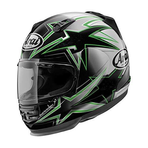Arai Helmets 025168 Shield Cover Set for Defiant Helmet - Asteroid Green Arai Helmets Replacement Shield Covers
