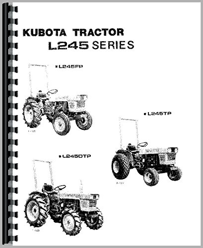 kubota l245dt tractor operators manual by kubota kubota manuals rh amazon com kubota l245 service manual pdf kubota l245dt service manual