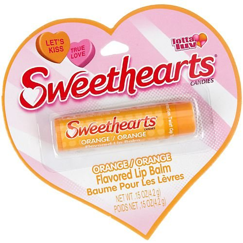 Sweethearts Orange Flavored Lip Balm ORANGE