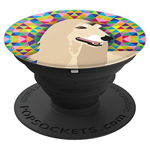 Afghan Hound Dog Lover Gift - PopSockets Grip and Stand for Phones and -