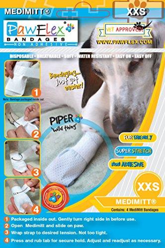 Pictures of PawFlex Bandages Medimitt BandagesPets (Pack of 4) ROM001 2XSmall 4