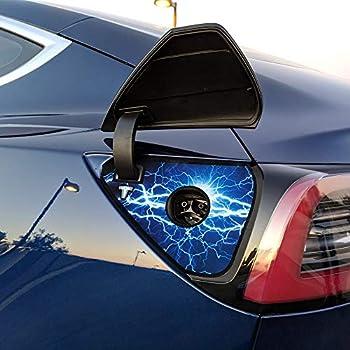 Amazon.com: BASENOR Tesla Model 3 Charging Port Skin ...