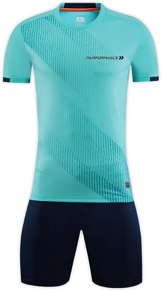 PAIRFORMANCE Boys and Girls Soccer Jerseys Sports Team Training Uniform Age 4-12 Boys-Girls Youth Shirts and Shorts