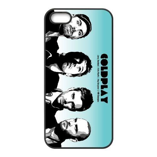 Coldplay 003 3 coque iPhone 5 5S cellulaire cas coque de téléphone cas téléphone cellulaire noir couvercle EOKXLLNCD22926