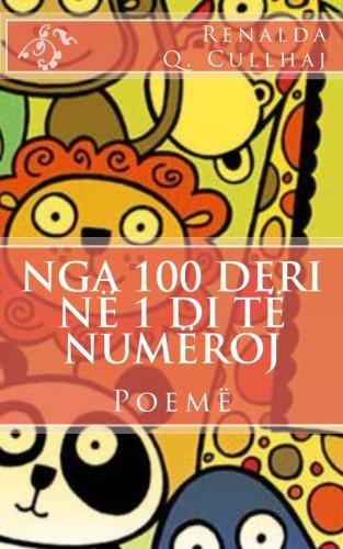 Download Nga 100 deri në 1 di të numëroj (Albanian Edition) pdf