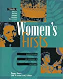 img - for Women's Firsts Edition 1.: Milestones in Women's History (Women's Reference Library) book / textbook / text book