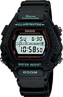 Casio DW-290-1VSEF - Reloj de caballero de cuarzo con correa negra