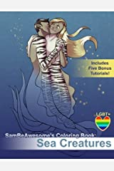 Sambeawesome's Coloring Book: Sea Creatures (Volume 1) Paperback
