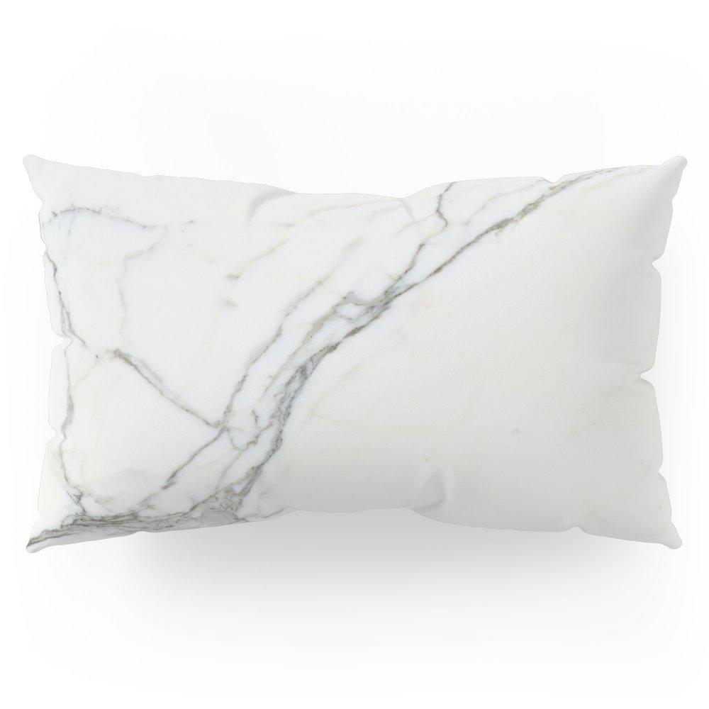 Society6 Carrara Marble Pillow Sham King (20'' x 36'') Set of 2