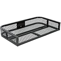 Rage Powersports ATVRB-3922 ATV Rack-Mounted Steel Mesh Surface Cargo Storage Basket (Rear)
