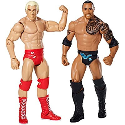 WWE Wrestlemania 32, Ric Flair and The Rock Figure 2-Pack: Toys & Games