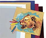 School Specialty Velour Paper, 42 lb, 20 X 27 in, Assorted Color, Pack of 24