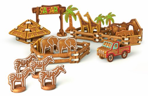 Tescoma Delicia Kids Gingerbread Safari Zoo Cookie Cutter Set