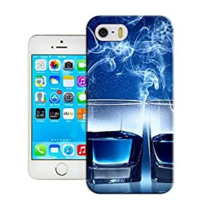 LarryToliver iphone 5/5s Customizable Cocktail glass Case great moment Silicone case cover at New One by icecream design