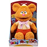 Disney Junior Muppet Babies Wocka Wocka Feature Fozzie, Interactive Plush (Stands 12')