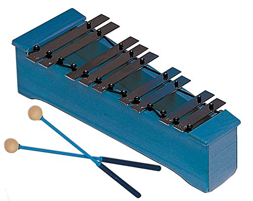 Carrillón alto, parte cromática, Do2/La3 Azul