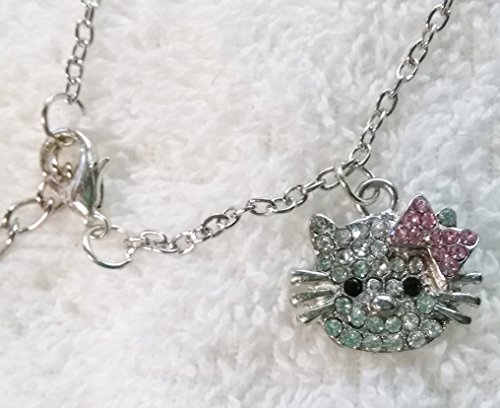 My Little Kitty Rhinestone Necklace (Farmers Market Costume)