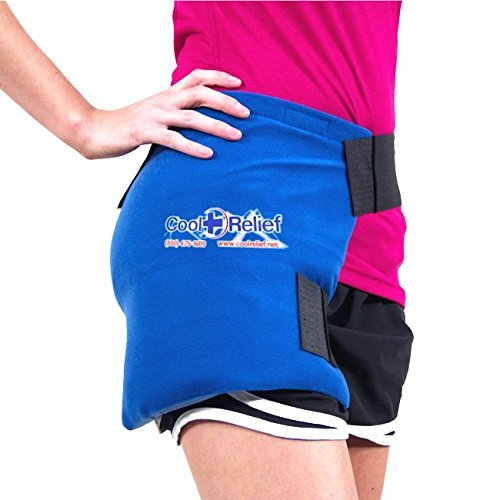 Soft Gel Hip Ice Wrap by Cool Relief (2 Removeable Inserts)