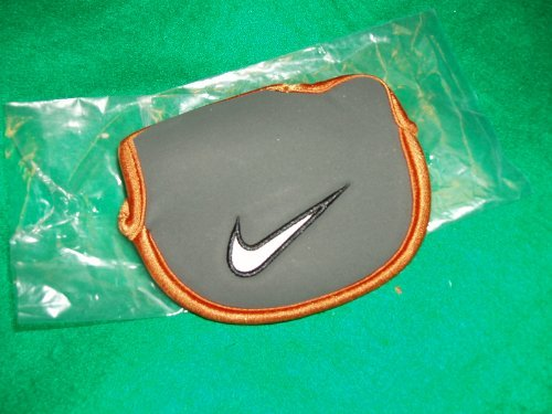 Nike LEFT HAND Mallet Style Neoprene PUTTER Headcover Golf Head Cover
