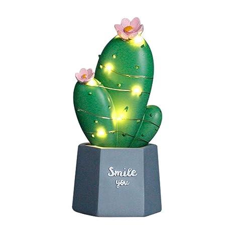 Cactus LED Lámpara de mesa Dream Star Lamp Small Night Light ...