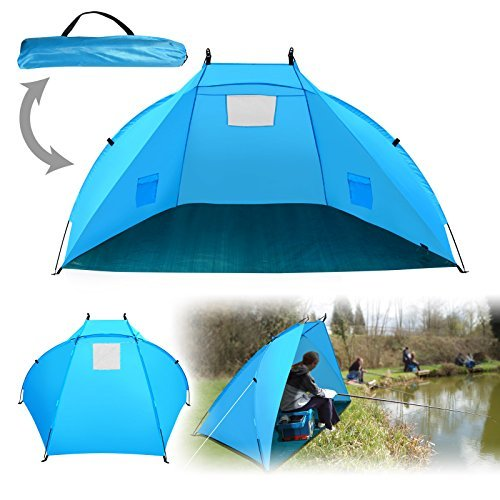 BenefitUSA Portable Outdoor Tent Fishing Beach Canopy Family Sports Camping Hiking Picnic Sunshade Shelter Travel Napping by BenefitUSA