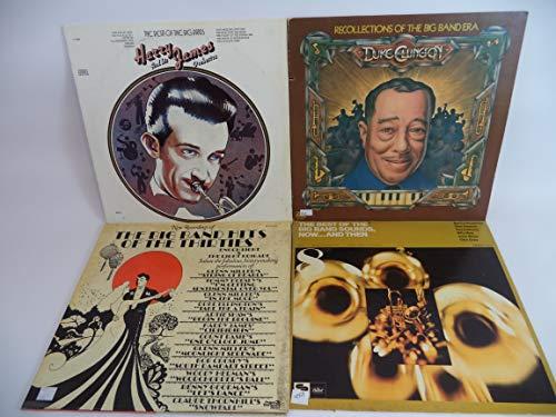 (Big Band Music Lot of 4 Vinyl Record Albums Duke Ellington and more)