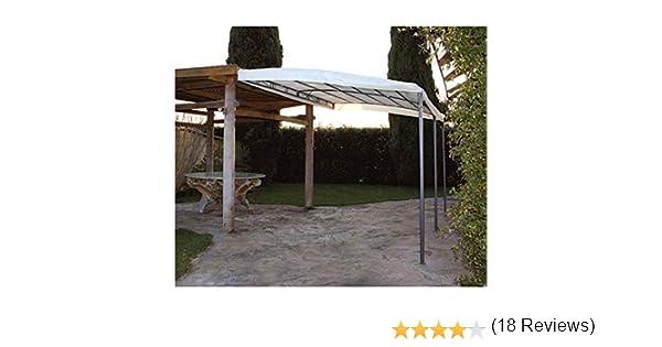 Papillon - Pérgola-cenador de metal para porches y jardines, modelo Minorca, 3 x 4 m: Amazon.es: Jardín
