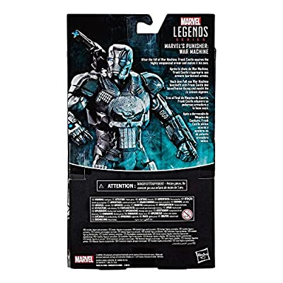 Exclusive Marvel Legends The Punisher in War Machine Armor 6-Inch Action Figure: Toys & Games
