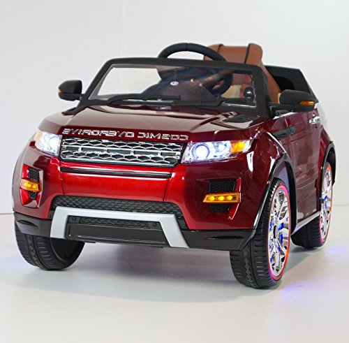 RANGE ROVER For Kids Model SX118 MP4 Video Screen Ride On Car With Control Parents Red (Range Red Rover)