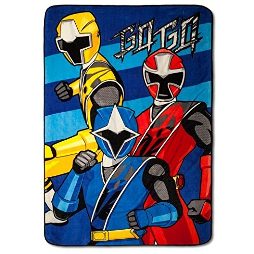 Power Rangers Blanket Oversized Plush 62