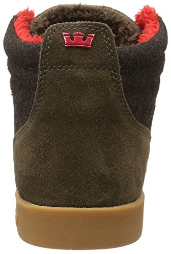 Supra BANDIT - zapatillas deportivas altas de cuero hombre Marrón - Braun (BROWN - GUM 262)