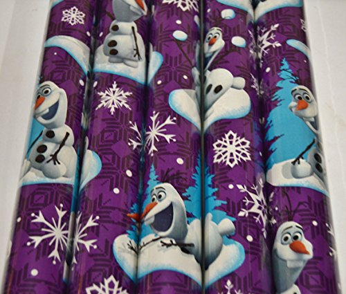 Disney Frozen Christmas Gift Wrap