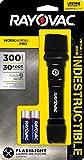Best Rayovac LED Lanterns - Rayovac Virtually Indestructible Black Flashlight - 2 Modes Review
