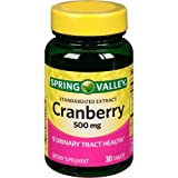 Spring Valley Standardized Extract Cranberry, 500