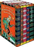 Die schönsten Kinderbuchklassiker: Peter Pan - Peterchens Mondfahrt - Der Zauberer von Oz - Alice im Wunderland - Pinocchio (5 Bände in Kassette)