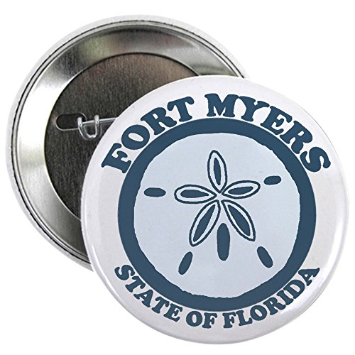 CafePress Fort Myers - Sand Dollar Design. 2.25