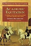 Academic Equitation, Albert Eugène Èdouard Decarpentry, 0851310362