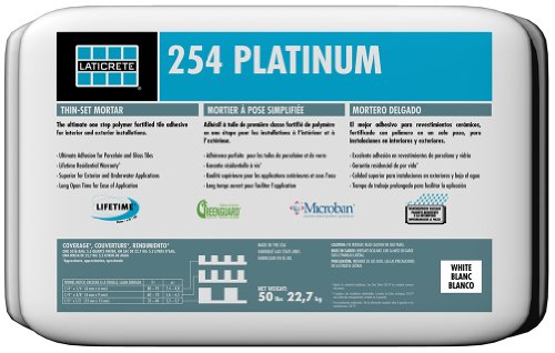 Laticrete 254 Platinum White - 50 lb Bag