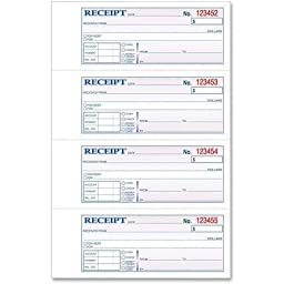 TOP46806 - TOPS Manifold Receipt Book