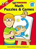 Math Puzzles and Games, Grade 1, , 0887247288