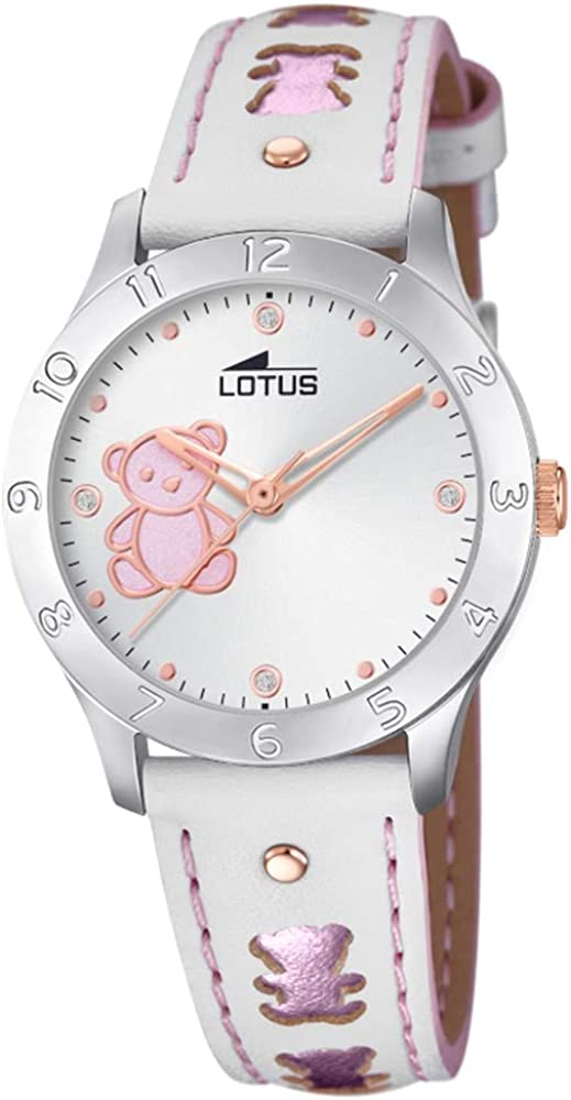 Lotus 18657/B - Reloj Analógico para Niñas, de Cuarzo con Correa en Cuero