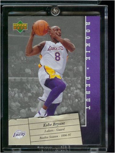 Kobe Bryant Rookie Debut Los Angeles Lakers Basketball Card #40- Mint Condition - Shipped in protective ScrewDown Case! ()