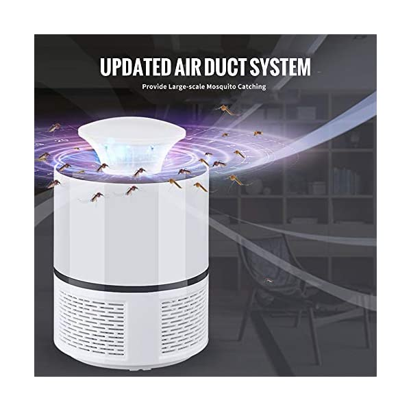Lampada Antizanzara Elettrica,KKmoon 5 W Zanzariera Elettrica Lampada Anti Zanzara UV USB Alimentato Trappola Zanzare… 2 spesavip