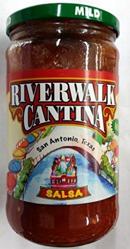 Riverwalk Cantina Salsa 24 Oz (Pack of 3) - Antonio Shopping San Riverwalk