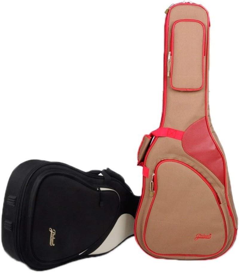 KUQIQI Guitarra Bolsa for 40/41 pulgadas acústica y guitarra ...