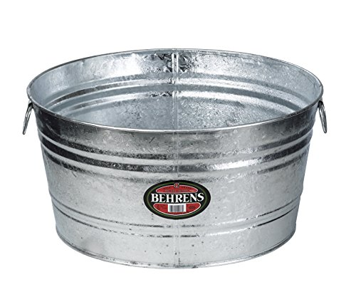 Behrens 2, 15-Gallon Round Steel