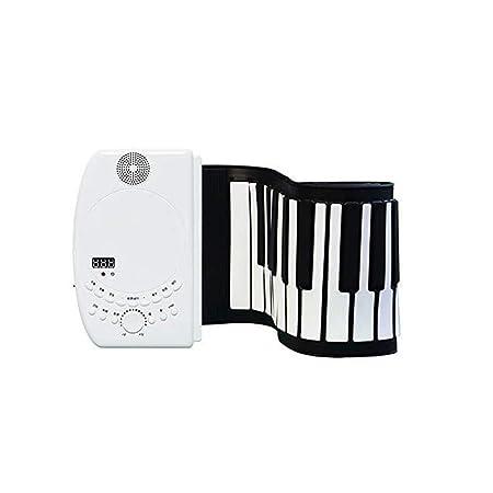 88-Key rueda for arriba el piano portátil con Bluetooth, MP3 ...