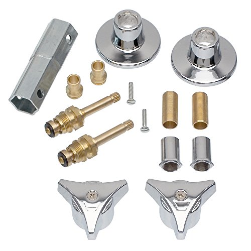 DANCO Tub and Shower 2-Handle Remodeling Trim Kit for Union Brass, Chrome, 1-Kit (39690) ()