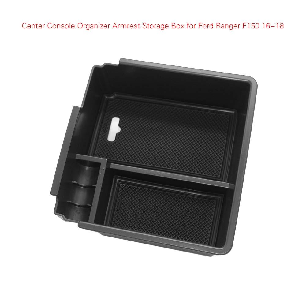 Caja de Almacenamiento para reposabrazos Central para Ford Ranger 2016 2017 2018 Bandeja organizadora para Auto AKDSteel
