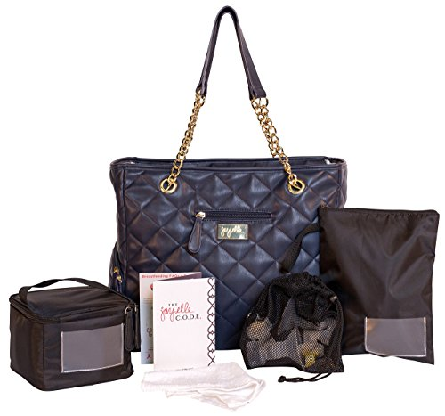 jay elle by J.L. Childress Breast Pump Bag 6-Piece Set (Duchess)